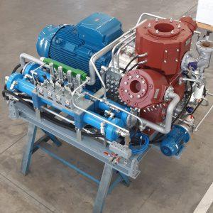 Skid con compressore DA300