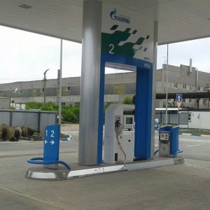 Dispenser ERM for CNG in Russia