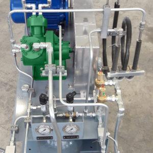 SA50 FornovoGas Recovery Gas compressor