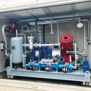 L'impianto di compressione di FornovoGas per Caviro