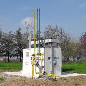 l'impianto di cogeneraziome di Casalgrande Padana e Cefla