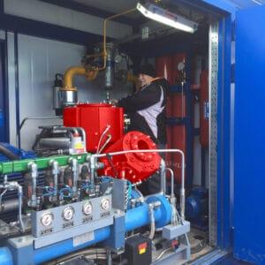 Compressor DA300 Stavropol CNG